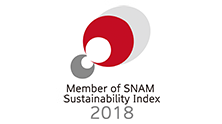 Member of SNAM Sustainability Index 2018